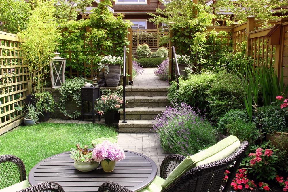 bestrating tuin