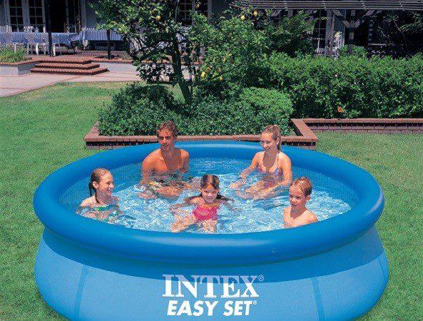 intex zwembad opblaasbaar