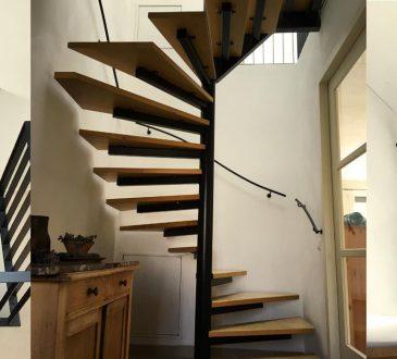 rekening houden aankoop nieuwe trap