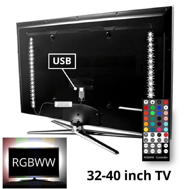 tv led licht