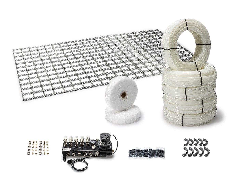 kant-en-klare pakketten vloerverwarming