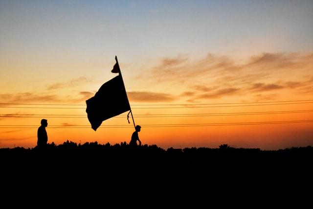 De streek vlag van de achterhoek